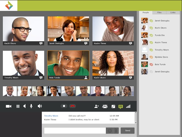 Tideo teleconference software