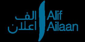 Alif Ailaan logo