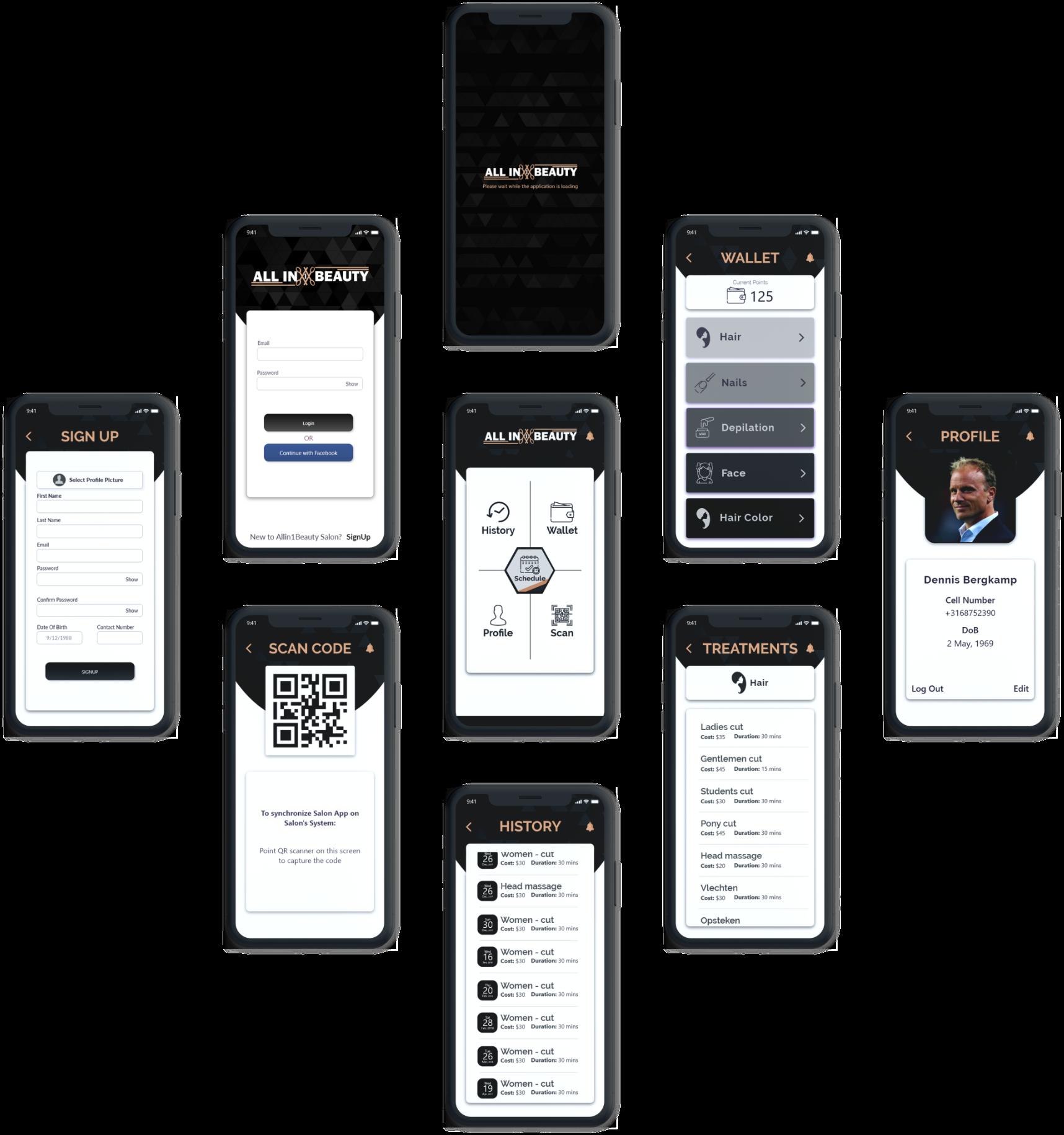 allin1 Mobile App